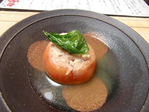 合鴨トマト煮