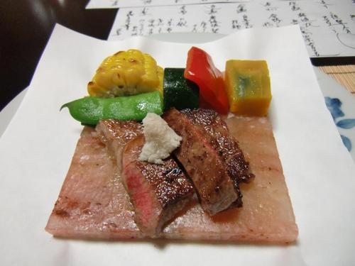 岩塩板和牛ステーキ
