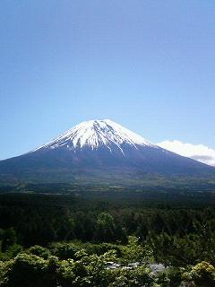 今日は富士山