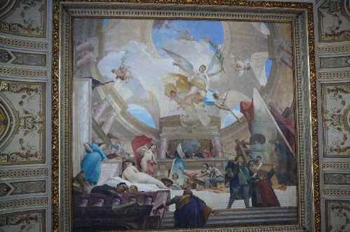 美術史博物館 天井画