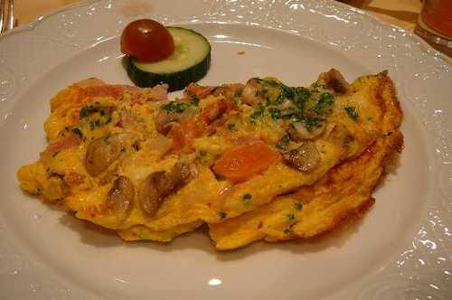 ホテル朝食 卵料理